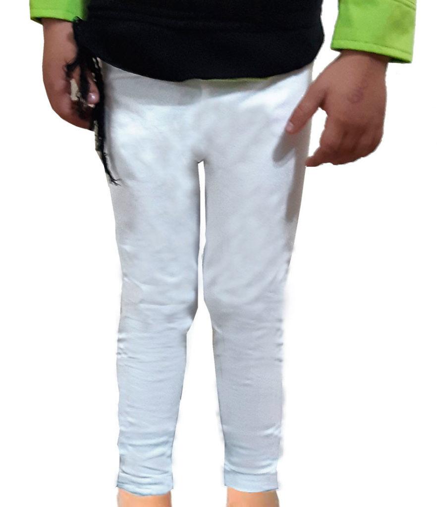leggins blancs