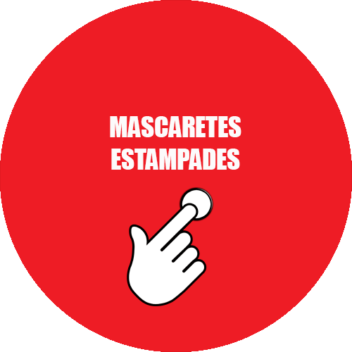 Mascaretes estampades